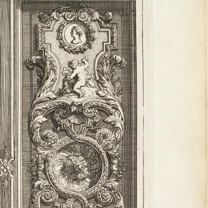 Print, Plate in Nouveaux livres de peintures de salles et d'escaliers (New Books on Paintings for Rooms and Stairs)