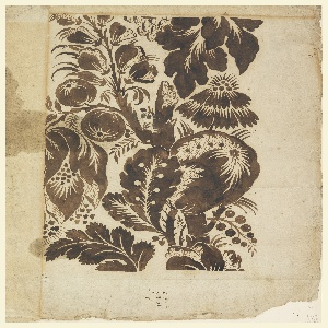 Drawing, Design for Woven Fabric