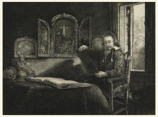 Print, Portrait of Abraham Francen