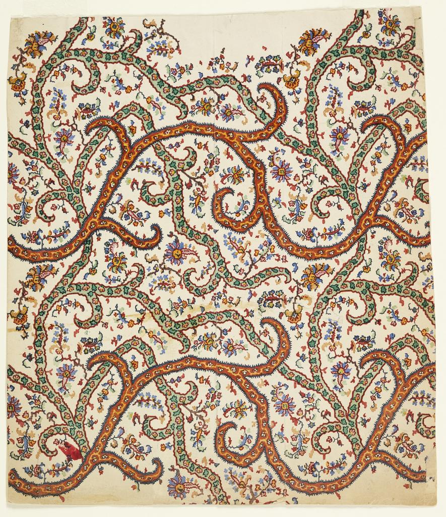 Print, Kashmir Design