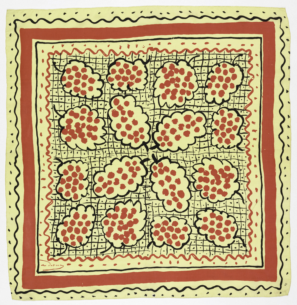 Square Or Scarf, Grapes