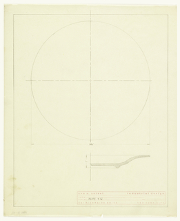 Design for a plate.