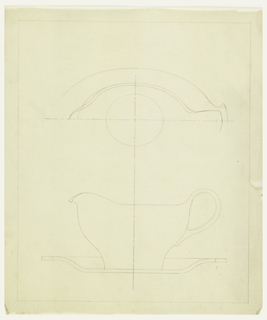 Design for a gravy boat.