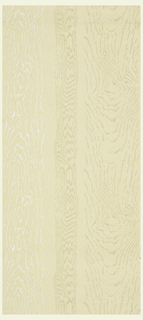 Wood grained paper with various grains forming vertical stripes.