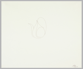 Minimalist line drawing of a teapot.