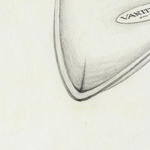 Packaging design; text on packaging: VANITY FAIR.