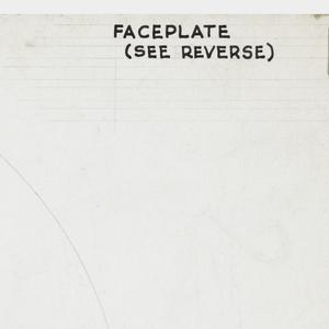 Design for regulator faceplate.