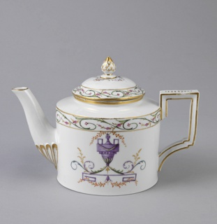 Teapot in Neoclassical Style Teapot