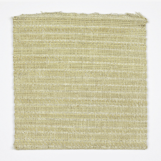 Hand woven in natural and white with textures.