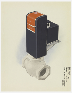 Drawing, Design for Gas Valve Housings/Linkage Cover