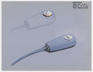 Drawing, Design for Regulator