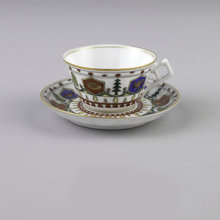 Demitasse Cup And Saucer (Russia)