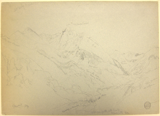 Drawing, Mount Holy Cross