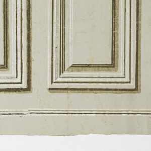 Inset panels, alternating between a large panel and a small panel. Printed in grisaille.  H# 608