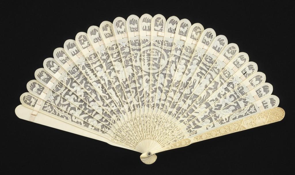 Brisé Fan, early 19th century