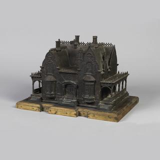 Clifton, Roslyn, New York Birdhouse Model