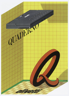 Poster, Olivetti Quaderno