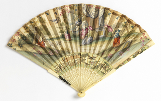 Pleated Fan (probably England)