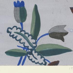 Drawing, Textile Design: Säge