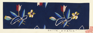 Drawing, Textile Design: Säge