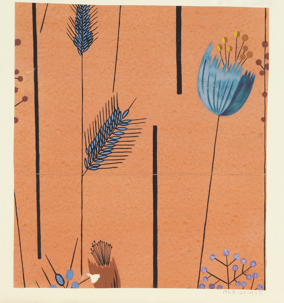 Drawing, Textile Design: Korngold