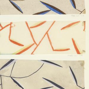 Drawing, Textile Design: Daphne