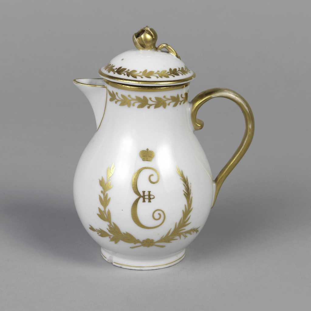Creamer And Lid (Russia)