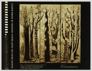 Sample Book, Murals from the Hand Drawn Originals of Ilonka Karasz