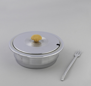 Butter Dish With Fork (USA)