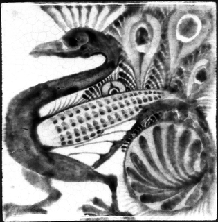 Peacock Tile