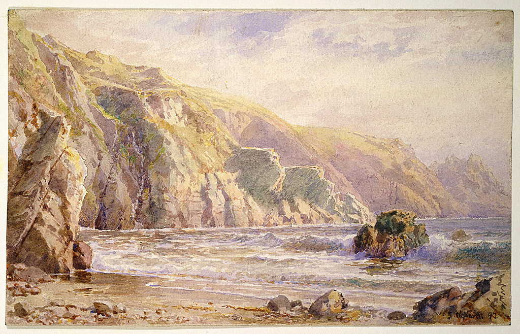 "Drawing, Study for ""Moulin Huet Bay, Guernsey"""