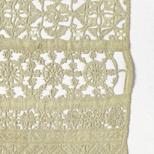Eleven borders of cutwork, drawnwork and embroidery.
