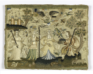 Embroidered Picture, The Judgement of Paris