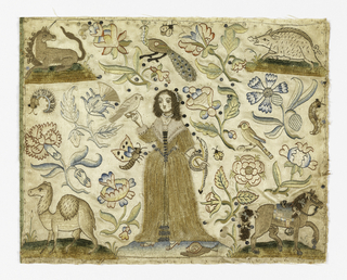 Embroidered Picture (England)