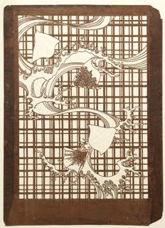 Katagami, Waves and Chidori Birds on a Lattice