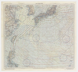 Escape Map, C-52 Japan and South China Seas and C-53 East China Sea