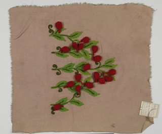 Couture Embroidery Sample (USA), 1930–39