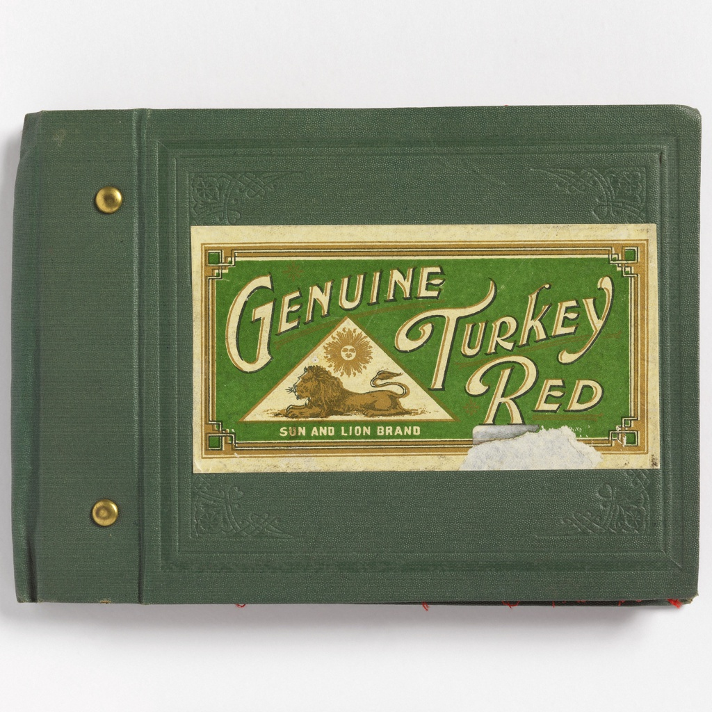 Sample Book, Genuine Turkey Red