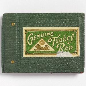 Sample Book, Genuine Turkey Red