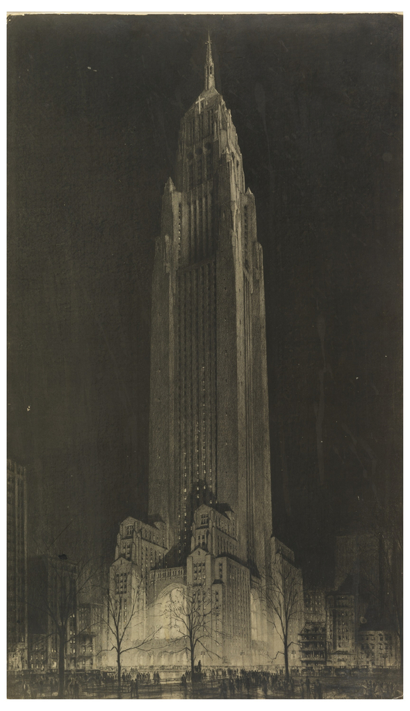 Print, Proposed Convocation Tower, Madison Square (Northeast Corner of Madison Avenue and East 26th Streeet)