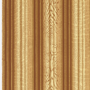 Wood grain pattern, with dark and light stripes running vertically.