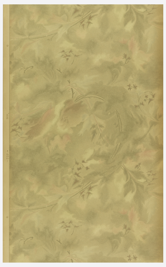 Very atmospheric design, with ivy and foliate motifs scattered throughout.