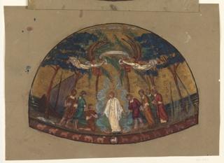 Drawing, Chapel, St. Paul's Seminary