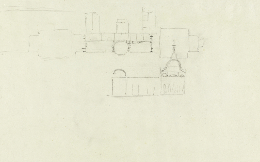 Drawing, Royal Pavilion, Brighton