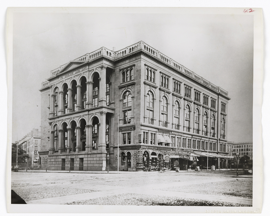 Image result for cooper union 1867
