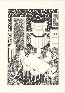 Print, Dining Area