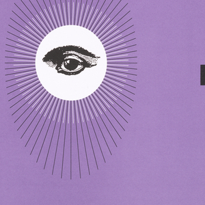 Overall poster in light purple. On left, column of white horizontal striations, in gradation, getting whiter on left edge. In black across poster: C A [an eye on white circle with lines radiating from it] D. On right, text in a column, alternating some words in white others in black: COMPUTER / AIDED / INDUSTRIAL / DESIGN / COME ON DOWN TO A HI-RES EVE- / NING OF THREE-D VISUALIZATION / FOR INDUSTRIAL DESIGN, PRESEN- / TATIONS WILL FEATURE SYSTEMS / MANUFACTURERS AND DESIGNER/USERS DEMONSTRATING HOW / COMPUTERS CAN SUPPORT YOUR WORK. JOIN VINCENT BILOTTA OF / MISSION GRAPHICS/APPLE COMPUTER / WITH FASHION DESIGNER LUCY HARLEY, LLOYD PHILPO'T, IDSA FROM / INTERGRAPH WITH FRITZ ZABRANSKI / OF PHILIPS (NETHERLANDS), AND / RAY MILLER OF ALIAS WITH AMELIA / KENNEDY, IDSA OF LOUIS NELSON / ASSOCIATES. TUESDAY MARCH 27. / RECEPTION 6:00PM, PROGRAM 7:00. / COLGATE-PALMOLIVE, 300 PARK / AVENUE, 7TH FLOOR. RSVP TO / ADRIAN LEE, 310.2750. / [LOGO OF IDSA NY].