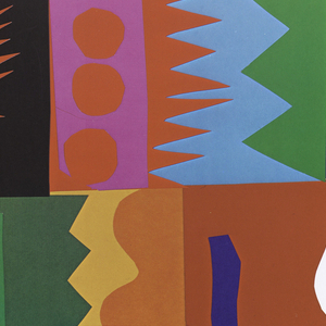 Poster depicts a rectangle filled with several abstracted shapes in various colors. Above, in gray: FESTA; below, in black: Franklin Avenue / Festival Association / Presents; The 3rd Annual / FESTA ITALIAN '80.; Franklin Avenue, / Harford, Connecticut; September 5, 6 & 7, 1980.