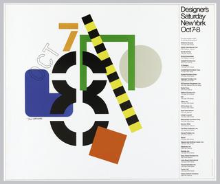 Poster, Designer's Saturday