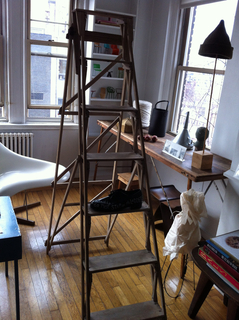 Ladder, Maira Kalman's Ladder, ca. 1949
